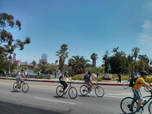 Ciclavia, Los Angeles, Wilshire