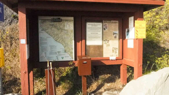 Back country permits can be obtained from here.