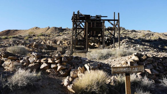 Cashier Mill used to process the ore by using mercury and cyanide to extract gold.