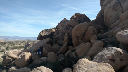 Rock scrambling