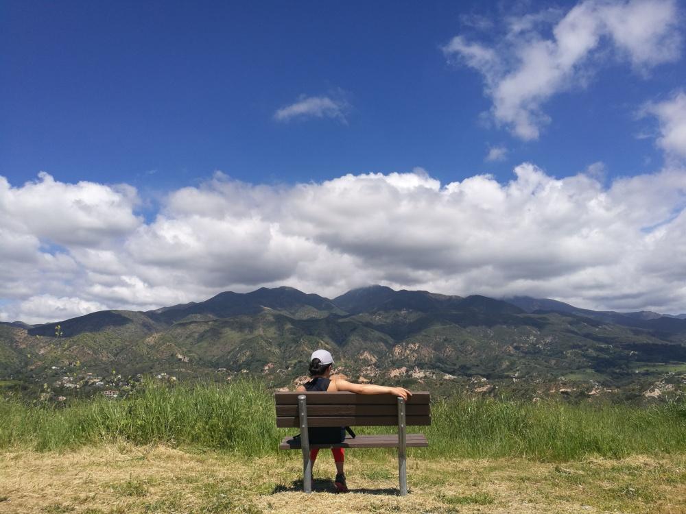 Santiago Peak, Vista Point